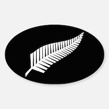 Silver Fern Flag Decal