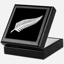 Silver Fern Flag Keepsake Box
