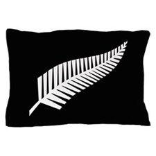 Silver Fern Flag Pillow Case