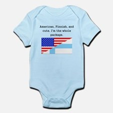 American Finnish And Cute Body Suit
