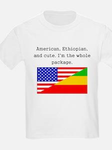 American Ethiopian And Cute T-Shirt