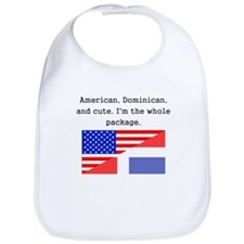 American Dominican And Cute Bib