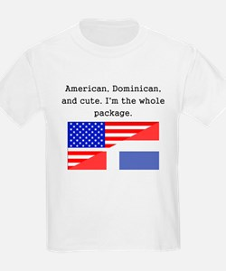 American Dominican And Cute T-Shirt