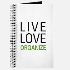 Live Love Organize Journal
