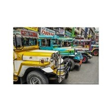 Baguio Jeepneys 4 Magnets