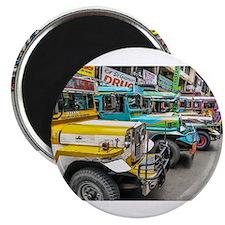 Baguio Jeepneys 4 Magnets