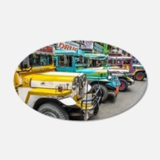 Baguio Jeepneys 4 Wall Decal