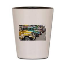 Baguio Jeepneys 4 Shot Glass