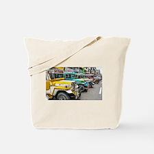 Baguio Jeepneys 4 Tote Bag
