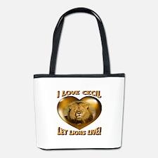 I Love Cecil Let Lions Live! Bucket Bag
