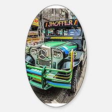 Baguio Jeepneys 5 Decal