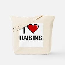Cute California raisins Tote Bag