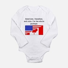 American Canadian And Cute Body Suit