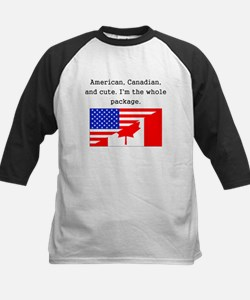 American Canadian And Cute Baseball Jersey