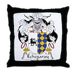 Echegaray Family Crest Throw Pillow
