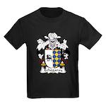 Echegaray Family Crest Kids Dark T-Shirt