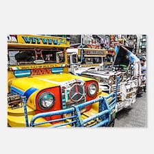Baguio Jeepneys 3 Postcards (Package of 8)