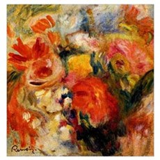 Renoir - Flower Study, 1913 Poster