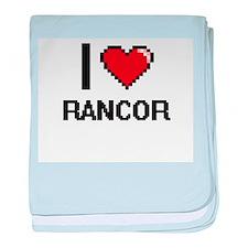 I Love Rancor Digital Design baby blanket