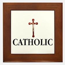 Unique Catholic Framed Tile