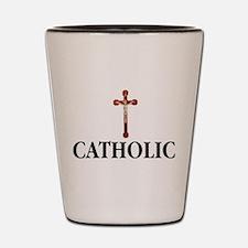 Funny Catholic Shot Glass