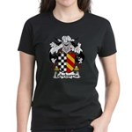 Echebarria Family Crest Women's Dark T-Shirt