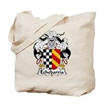 Echebarria Family Crest Tote Bag