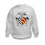 Echebarria Family Crest Kids Sweatshirt