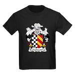 Echebarria Family Crest Kids Dark T-Shirt