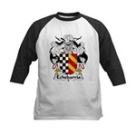 Echebarria Family Crest Kids Baseball Jersey