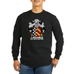 Echebarria Family Crest Long Sleeve Dark T-Shirt