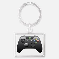 Funny Gaming Landscape Keychain