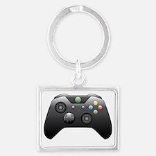 Cute Xbox Landscape Keychain