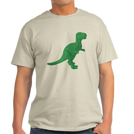 Green Oldschool T.rex Light T-Shirt