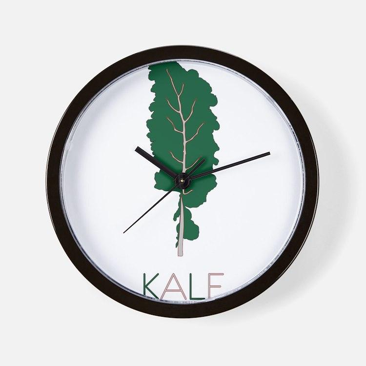 Cute Kale Wall Clock