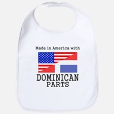 Made In America With Dominican Parts Bib