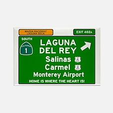 HIGHWAY 1 SIGN - CALIFORNIA - CARMEL - SAL Magnets