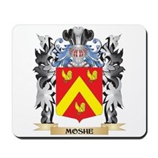 Moshe Coat of Arms - Family Crest Mousepad