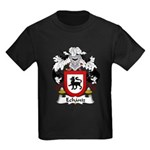 Echaniz Family Crest Kids Dark T-Shirt