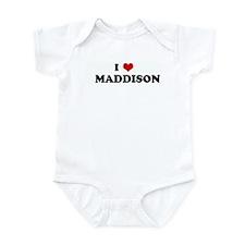 I Love    MADDISON Infant Bodysuit
