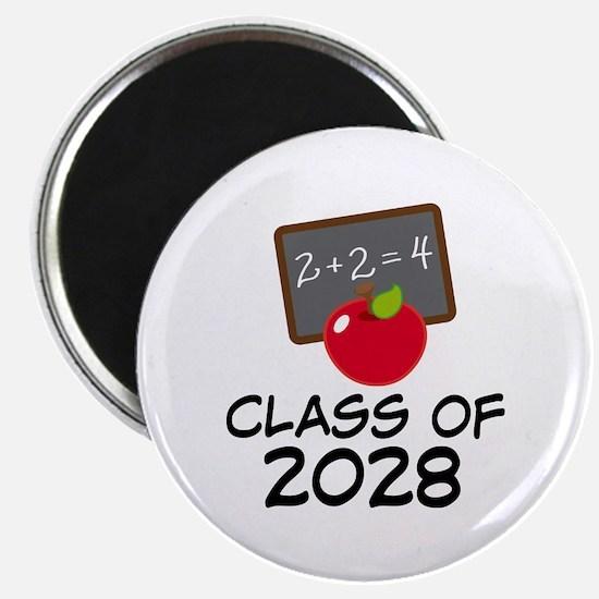 2028 Class Pride Magnet