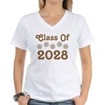 2028 Class Pride Women's V-Neck T-Shirt