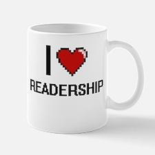 I Love Readership Digital Design Mugs