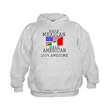 Half Mexican Half American Hoodie