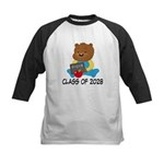 Class Of 2028 school bear Kids Baseball Jersey