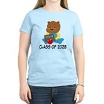 Class Of 2028 school bear Women's Light T-Shirt
