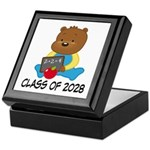 Class Of 2028 school bear Keepsake Box