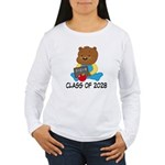 Class Of 2028 school b Women's Long Sleeve T-Shirt