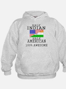 Half Indian Half American Hoodie