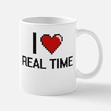 I Love Real Time Digital Design Mugs